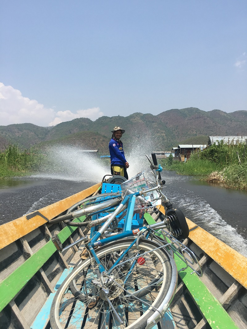 bikes boat