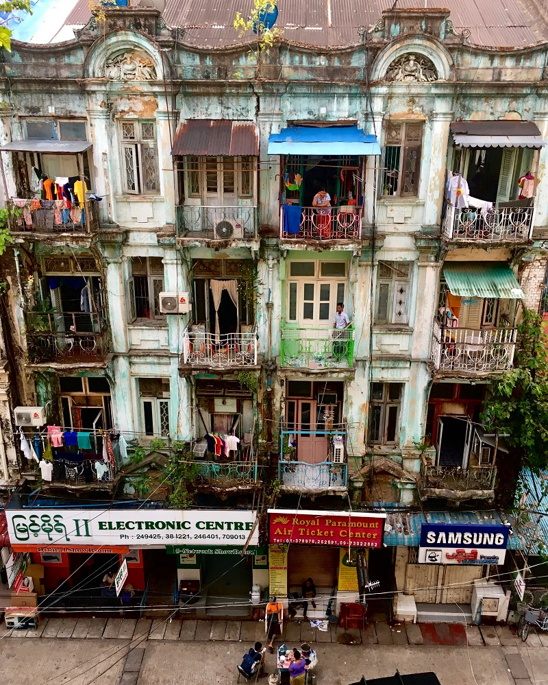 yangon neighbours