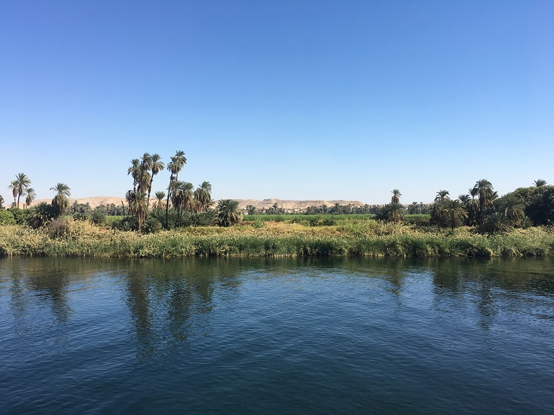 nile river bank