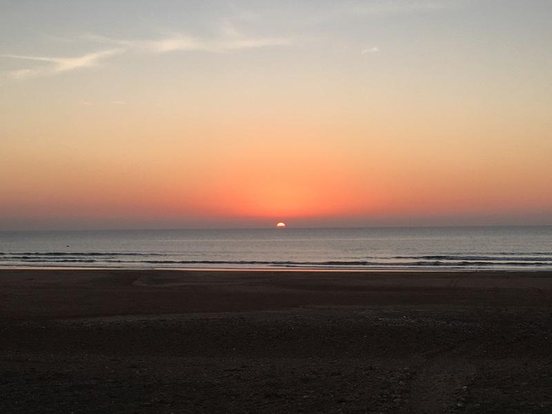 sidi kaoki sunset