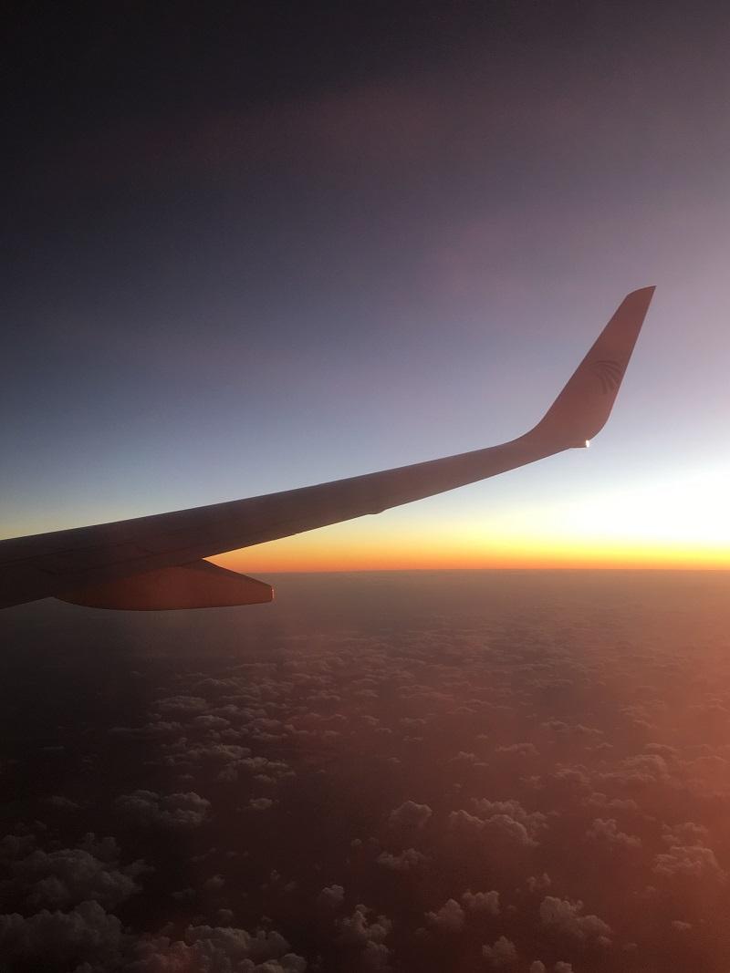sunset egyptair
