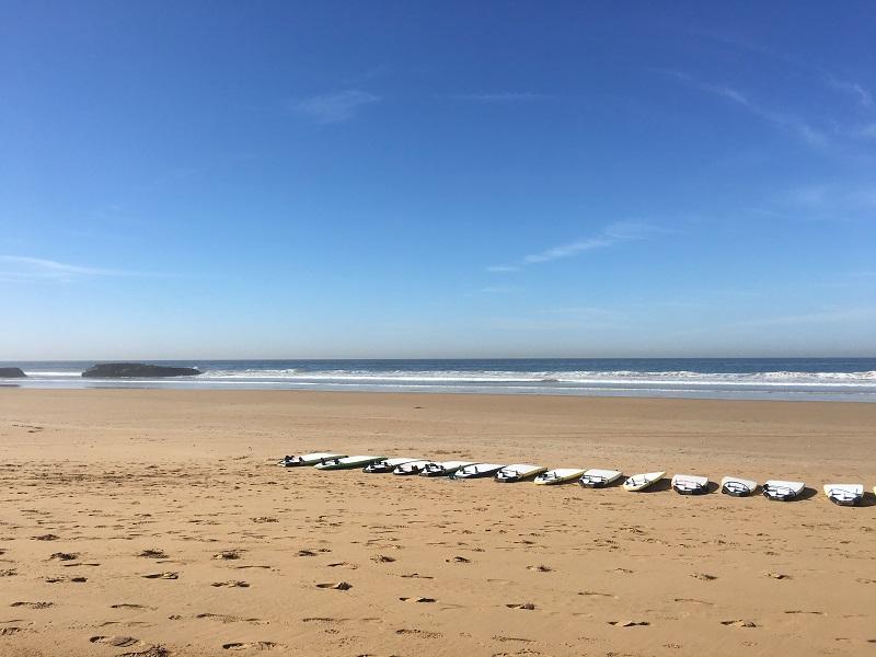 surfing agadir